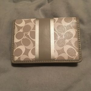 Coach Small Wallet with Dust Bag